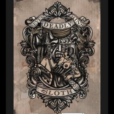 tattoo sin in bible 402 best seven deadly sins artwork images on pinterest