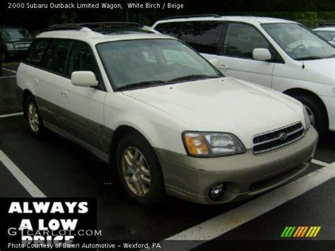 2000 subaru outback interior white birch 2000 subaru outback limited wagon beige