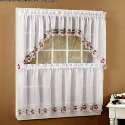 Swag Curtains For Kitchen Curtain Kitchen Swag Curtain Design