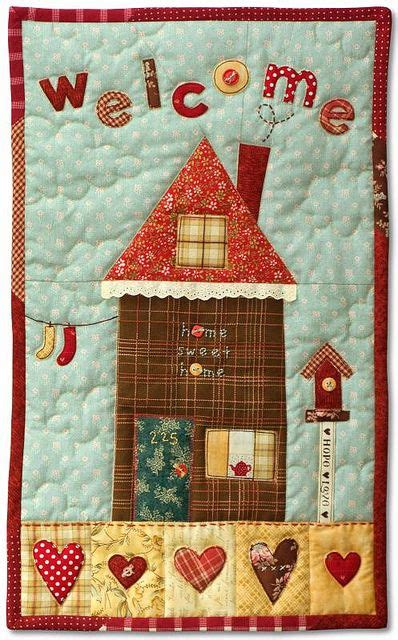 Quilt At Home by House Quilt Building Houses From Scraps Picmia
