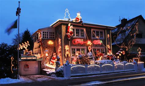 decorated houses creative decorations ob christmas photos from colorado
