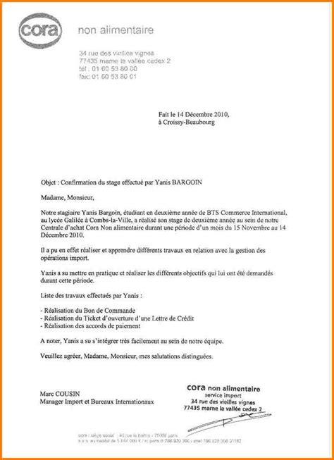 10 lettre de recommandation stagiaire modele lettre