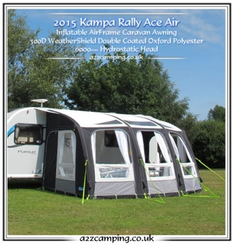 pump up awnings new 2015 ka rally ace 400 air pro 390 caravan porch