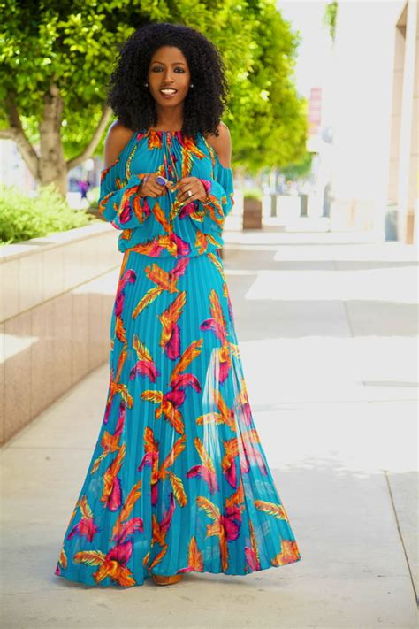 Pantry Styles by Style Pantry Bohemian Pleated Maxi Dress