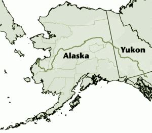 yukon river map yukon river background information and map