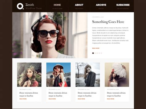 wordpress themes free zenith step 4 configure your blog 183 the blog starter the blog