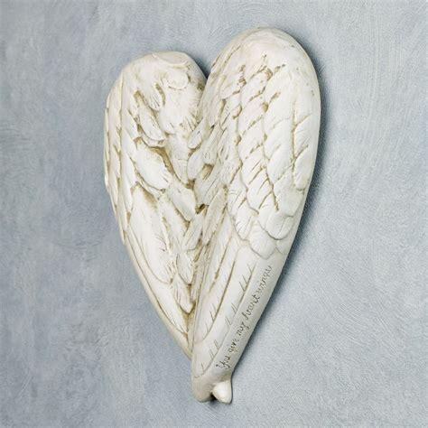 wall decor angel wings angel wings wall plaque statues angels wings pinterest