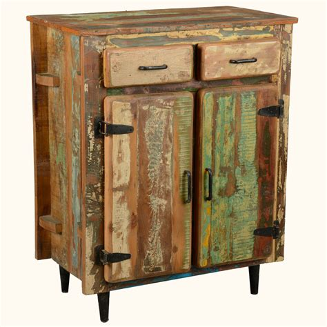 Rustic Kitchen Sideboard by Reclaimed Wood Rustic Kitchen Utility Storage Cabinet