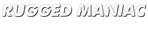 rugged maniac logo rugged maniac 5k obstacle race mud run