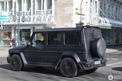 Farid Bangs Auto by Mercedes Mansory Gronos 1 April 2015 Autogespot
