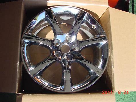 infiniti g35 chrome rims fs front 18 quot infiniti g35 coupe oem chrome wheel