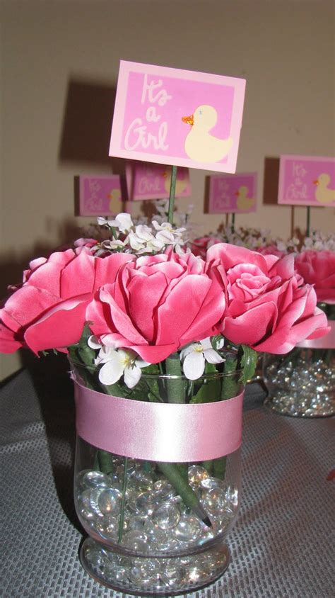 baby shower table centerpieces creatively challenged baby shower centerpieces