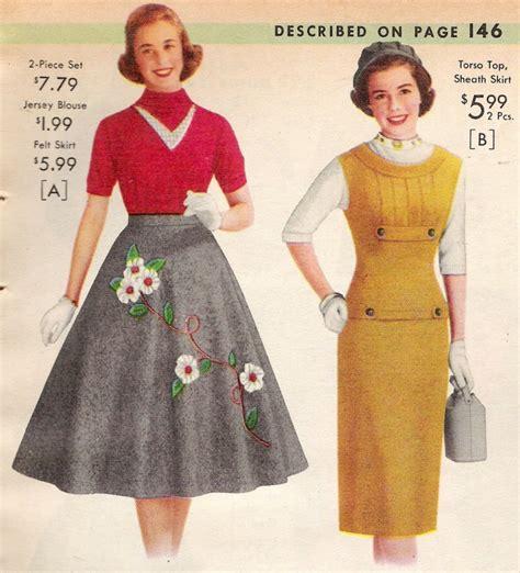 1950s fashion history costume history 50s social history 1950s fashion 1950s skirt history vintagedancer com