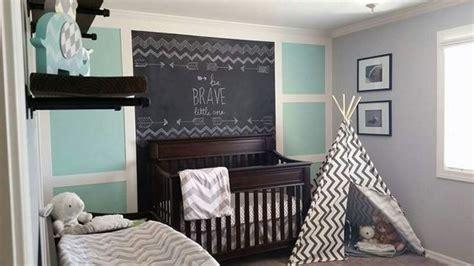 nursery ideas chalkboard feature wall cookie cutter charm
