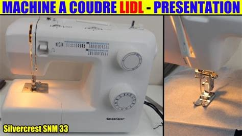 Machine 224 Coudre Lidl Silvercrest Snm 33 B1 Sewing