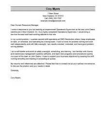 Food Services Manager Cover Letter by Cover Letter Food Service Director