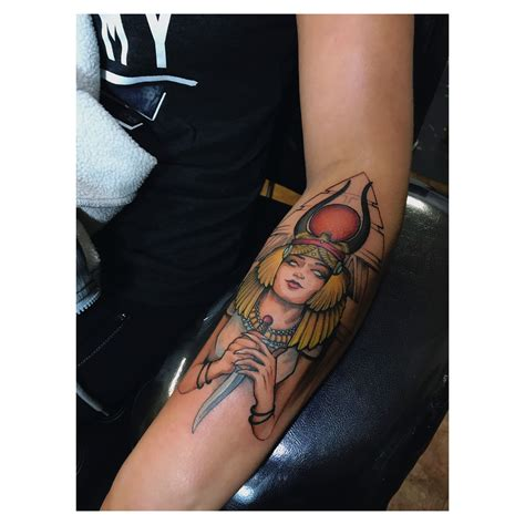 hathor tattoo hathor an ancient goddess tattoos