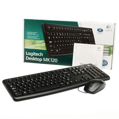 Keyboard Logitech Mk120 logitech mk120 wired keyboard mouse combo 22 95 nos