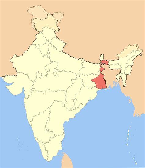 bengal india map file india westbengal svg