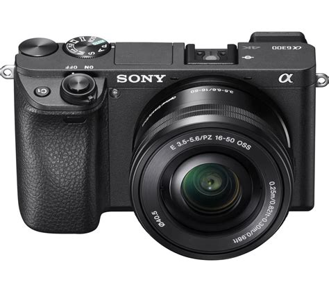 sony mirrorless review buy sony a6300 mirrorless with 16 50 mm f 3 5 5 6