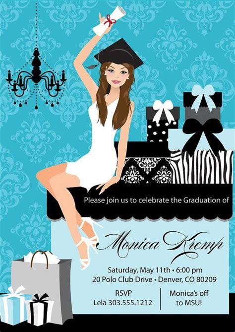 college graduation party invitation diy high school grad
