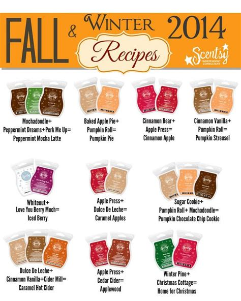 fall scents 23 best images about scentsy hostesses on pinterest
