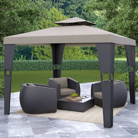 rattan pavillon 17 handsome budget gazebo designs