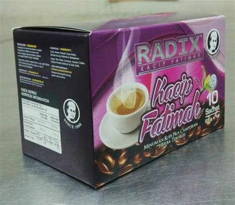 Kacip Fatimah Radix hpa international radix kacip fatimah