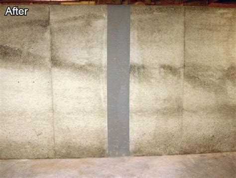 vertical in basement wall foundation wall repair abt foundation solutions inc