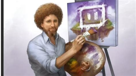 bob ross painting the revenant twitch launches a new hub where users can artists as
