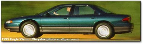 car manuals free online 1996 eagle vision interior lighting development of the body shell suspension and steering of the chrysler lh series dodge