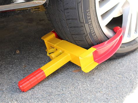 boat trailer wheel lock wheel tire lock cl parking boot anti theft for boat