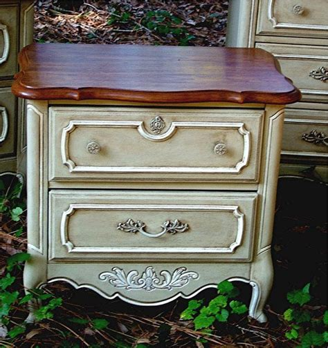 chalk painted end tables nightstand or end table painted in as s country grey chalk
