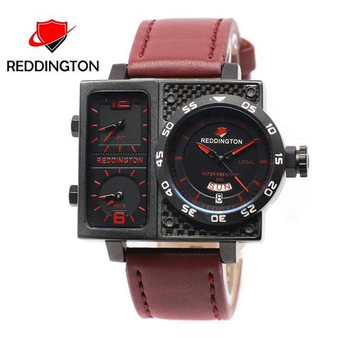 Jam Tangan Pria Reddington 1310 Original 2 reddington original r3030 jam tangan pria time kulit elevenia