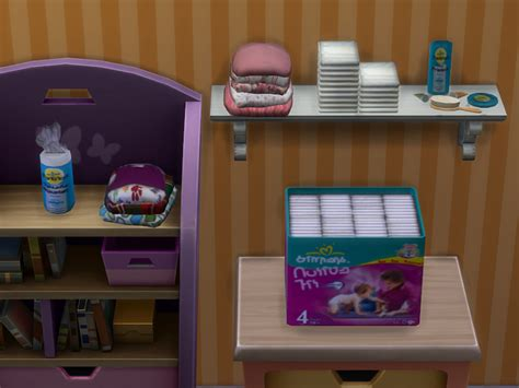clutter 4 custom content sims baby clutter 187 sims4fun six decorative objects for babies
