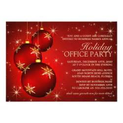 corporate holiday party invitation zazzle