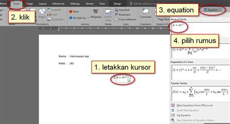 rumus membuat link di html heradhis blog membuat rumus dalam ms word