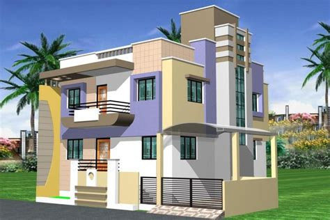 photos of duplex houses in india