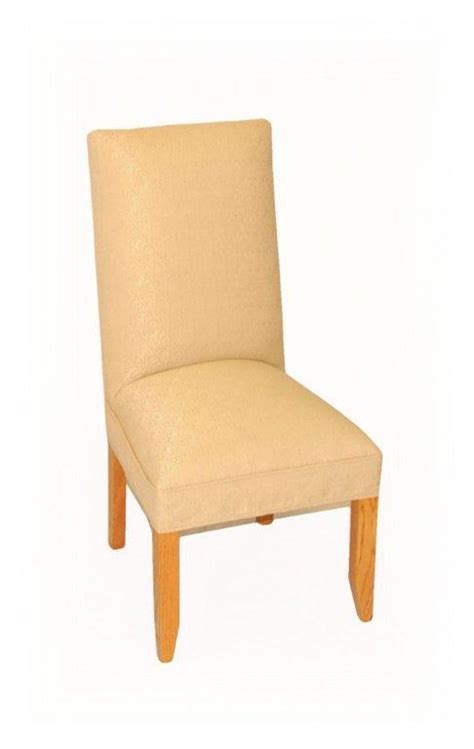 dining room parson chairs amish upholstered parsons dining room chair