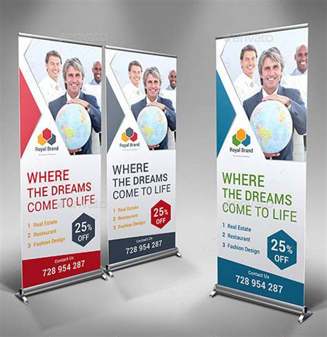 xbanner design inspiration inspiring signage templates with print ready files