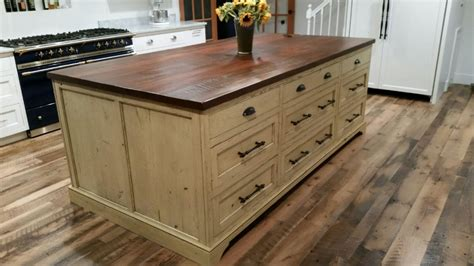 custom kitchen island custom kitchen islands shenandoah furniture gallery