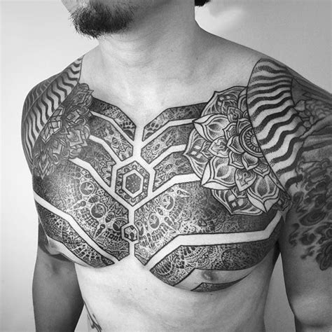 chest tattoo ethnic best 20 mandala chest tattoo ideas on pinterest