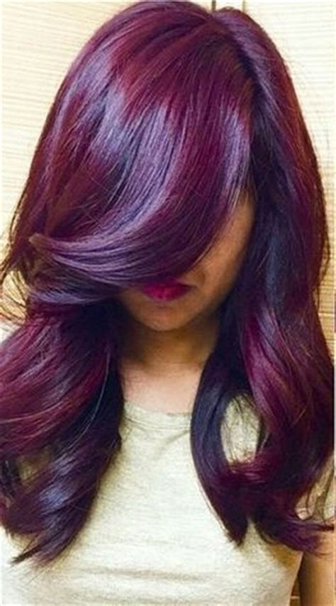 Purple Craze Fall 2007 Trend by Winter Hair Color Ideas Plum I Would This Hair
