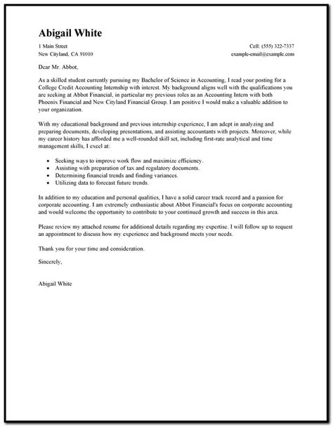 sle cover letter for resume registered cover