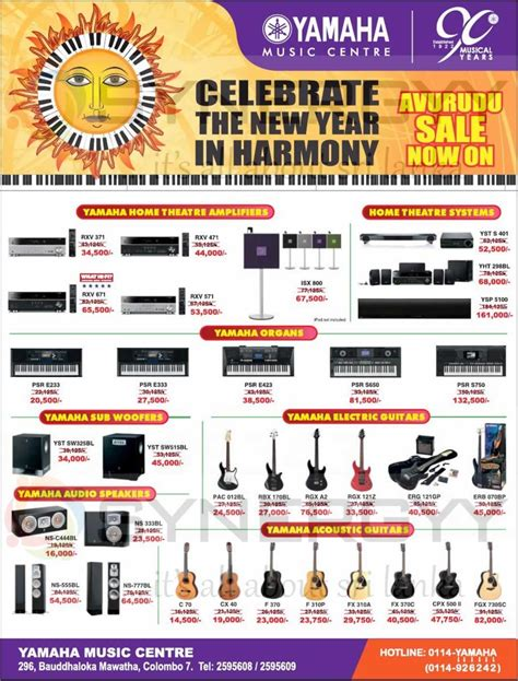 panasonic new year promotion yamaha centre special prices for sinhala tamil new