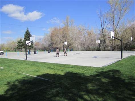 sugar house park sugar house park basketball court salt lake city utah outdoor basketball courts