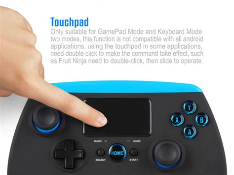 Ipega Bluetooth Controller With Touchpad For Smartphone And ipega bluetooth controller with touchpad