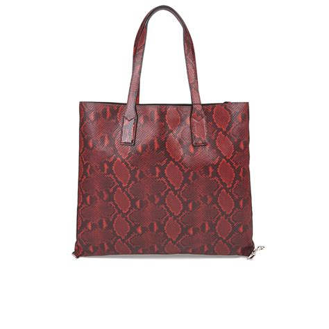 Marc Inspired Gemtastic Shopper At Accessorize by Marc By Marc Womens Snake Wingman Shopping Tote Bag