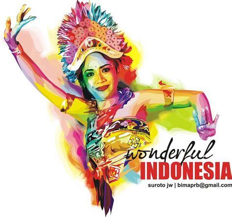 design tari adalah lestarikan budaya indonesia dalam desain