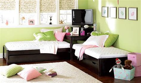 2 Twin Beds With Corner Unit Woodworking Projects Plans Corner Bed Set